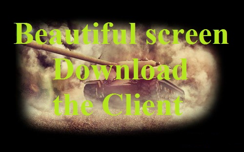 Beautiful screen Download the Client (30 options) For WoT 0.9.18