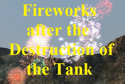 Fireworks after the Destruction of the Tank Mod For World Of Tanks