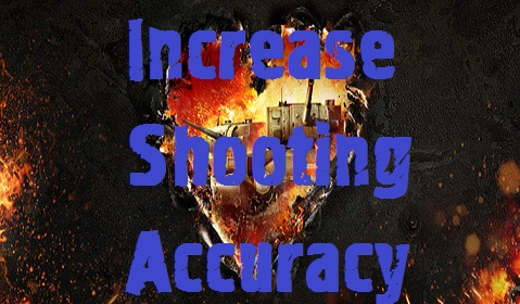 Increase shooting accuracy Mod For World Of Tanks 0.9.17.1