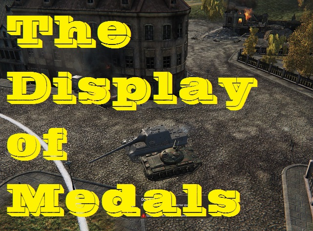 Display of medals during the battle Mod For World Of Tanks 0.9.14.1