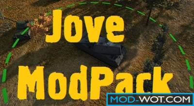 Jove mods - ModPack by Jove For World of tanks 1.3.0.0