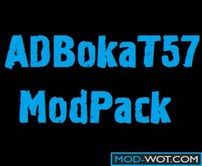 Build mods by ADBokaT57 ModPack For World of tanks 1.0.2.1