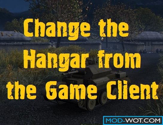 Replacement of hangar from the game + a collection of hangars to change in WOT 0.9.15